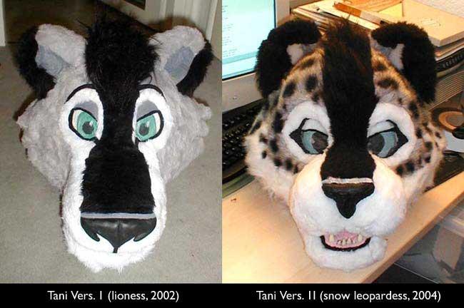 Tanidareal S Fursuit Website Making Of Photos Furry
